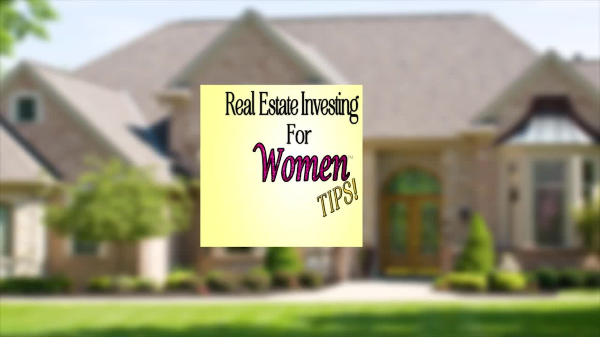 Building Financial Security with Amanda Neely - REAL ESTATE INVESTING FOR WOMEN TIPS