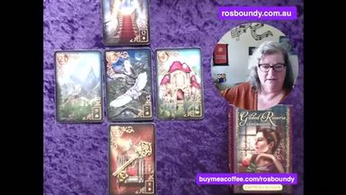 8th October 2021  Daily LENORMAND Cards with Ros