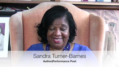 DENT DAMAGE TV-Turning The Page Ep. 9 featuring author/poet, Sandra Turner-Barnes