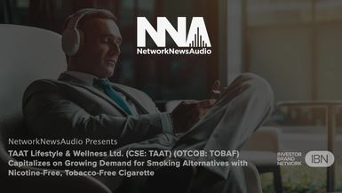 NetworkNewsAudio News-TAAT Lifestyle & Wellness Ltd. (CSE: TAAT) (OTCQB: TOBAF) Capitalizes on Growing Demand for Smoking Alternatives with Nicotine-Free, Tobacco-Free Cigarette