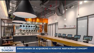 BRN Sunday | Sweetgreen is acquiring a robotic restaurant concept