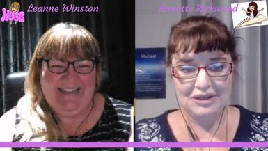 Leanne Winston Psychic Medium with Annette Kirkwood