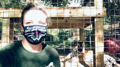 Cool Cats and Kittens Masks from Big Cat Rescue