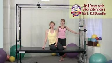 Roll Down with Back Extension 2