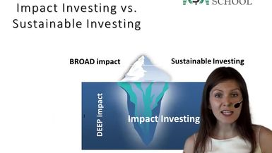 Impact vs Sustainable Investing