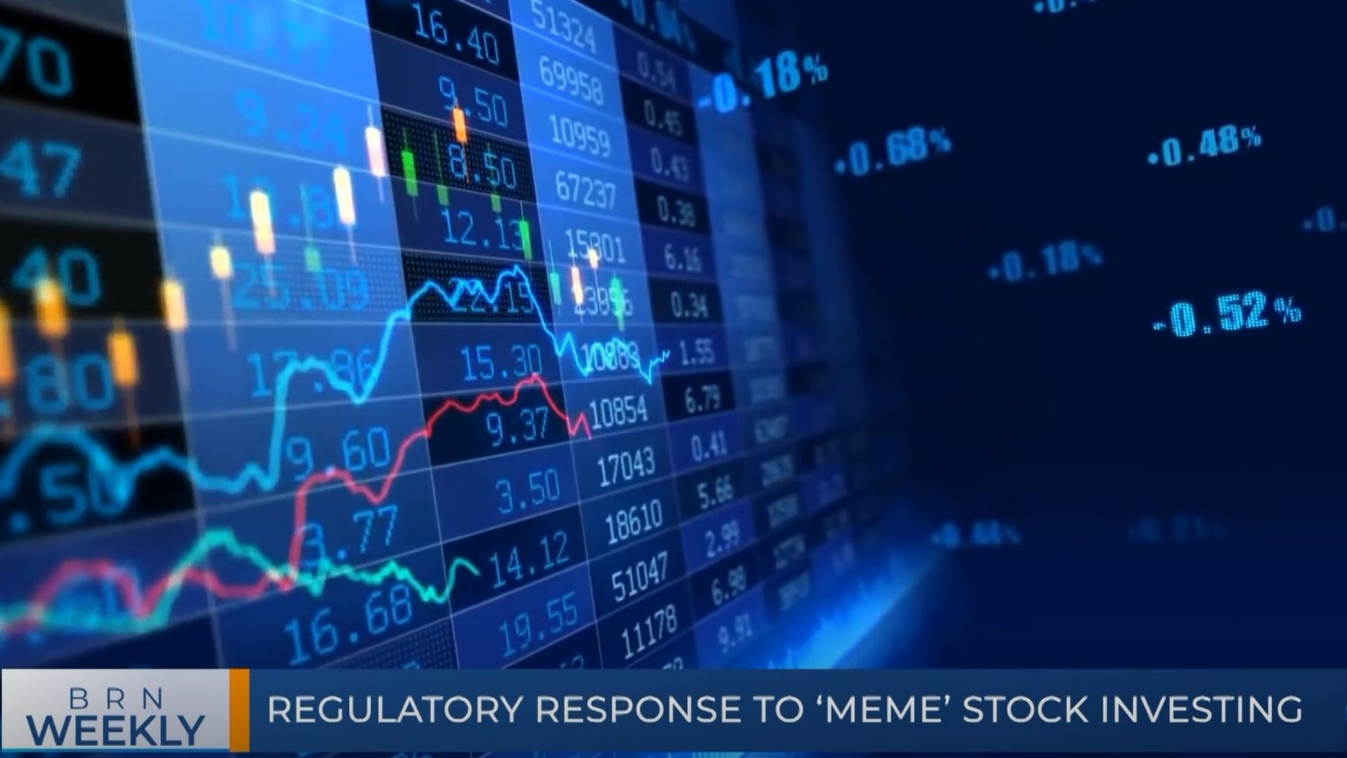 BRN Weekly   Regulatory response to 'Meme' Stock Investing & our best segments for the week