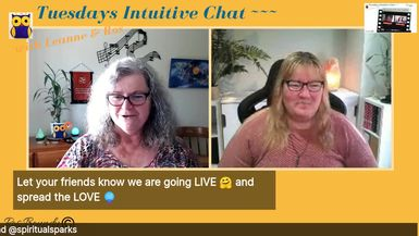 Tuesdays Intuitive Chat with Leanne & Ros - 9th June 2020  Click here for the Livestream: htt