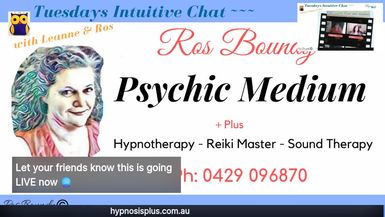 Tuesdays Intuitive Chat with Leanne & Ros