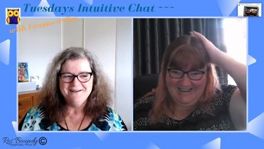 Tuesdays Intuitive Chat with Leanne & Ros - 19th November 2019 Join in! An hour of Fun & Chatting