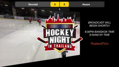 ThailandTV.tv presents Hockey Night in Thailand: Siam Hockey League Novotel @ Aware