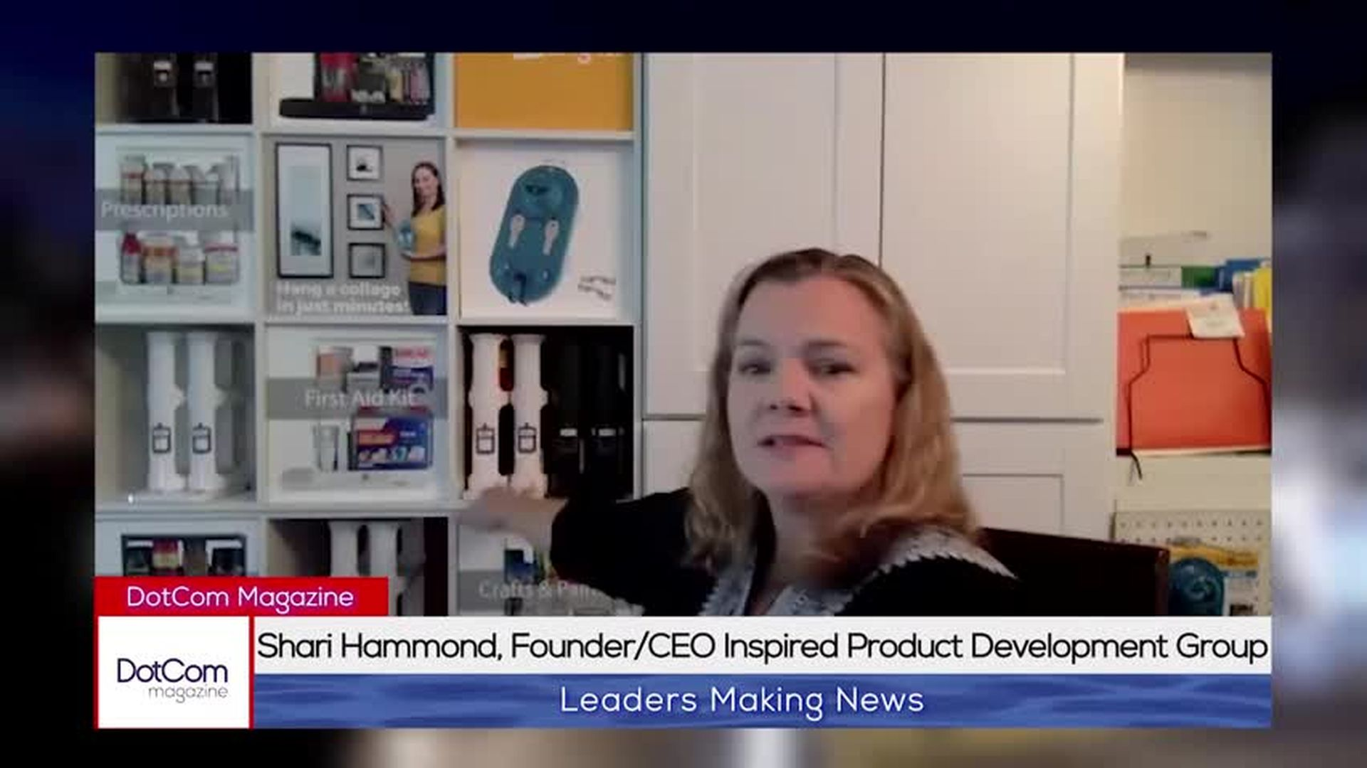 Shari Hammond, CEO/Founder of Inspired Product Development Group. A DotCom Magazine Interview.