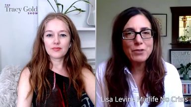 Turning 50 - The Good, Bad & Gray Areas With Lisa Levine - Tracy Gold Show