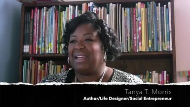 DENT DAMAGE TV-Turning The Page Ep. 2 featuring author, Tanya T. Morris