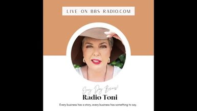 Radio Toni Every Day Business with Kerryn Vaughan