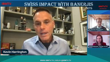 Swiss Impact with Banerjis: Kevin Harrington, March 19, 2021