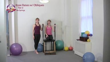 Knee Raises with Obliques