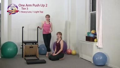 One Arm Push Up 2