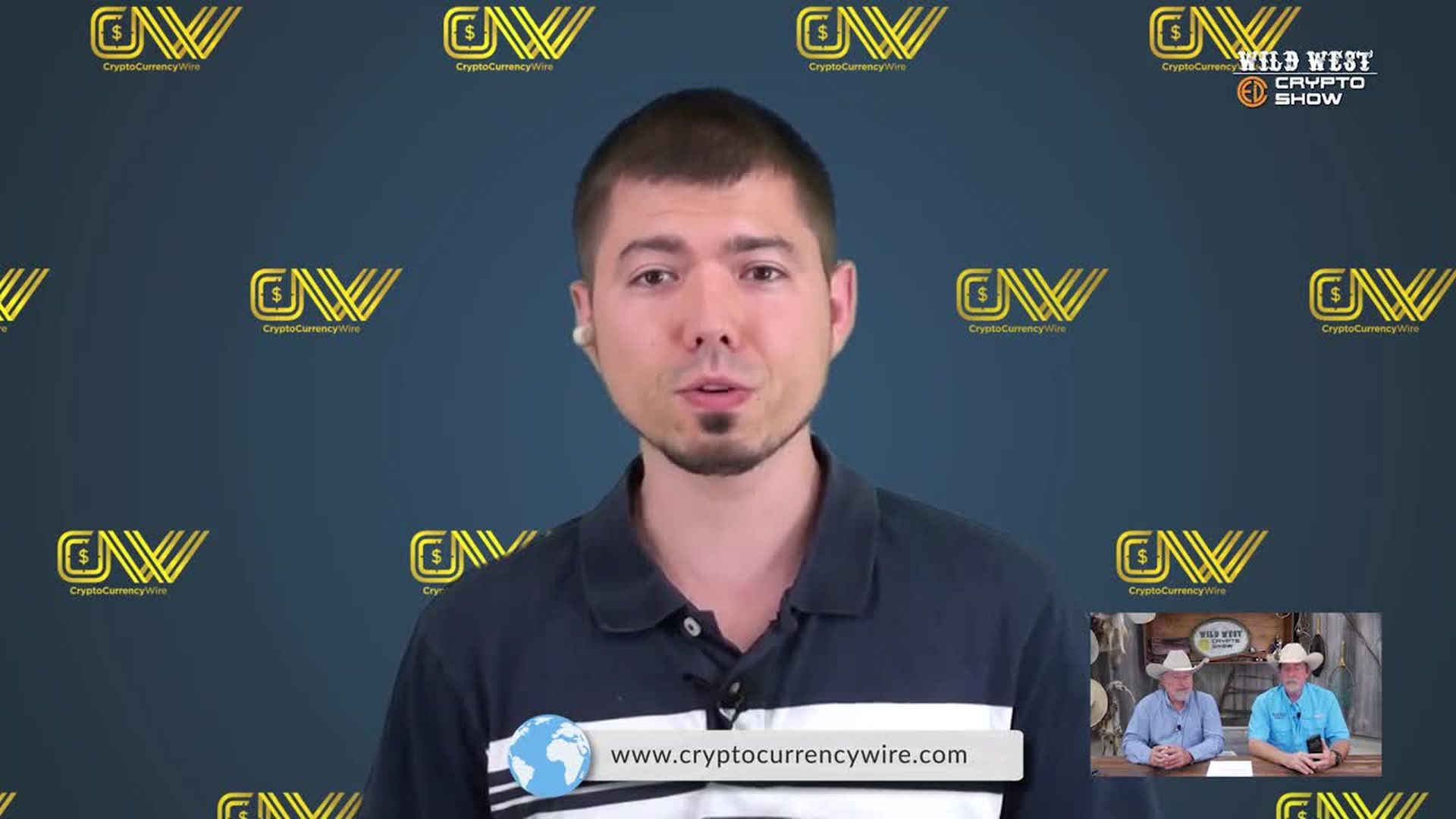CryptoCurrencyWire Videos-The Wild West Crypto Show Hosts Congressional Hopeful Darren Dione Aquino | CryptoCurrencyWire on The Wild West Crypto Show | Episode 114