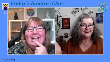 18th June 2021  Friday's Intuitive Chat with Leanne & Ros