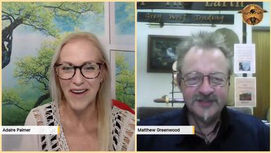 Fireside Chat with Matthew Greenwood - Online event RAISING YOUR VIBRATION FOR HEALTH, HAPPINESS A