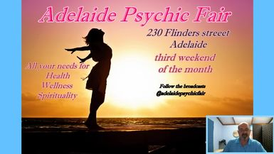 Adelaide Psychic Fair 6 @adelaidepsychicfair This week we will be bringing you Paul Anthony Caper