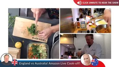 The Great England V's Australia Cook Off