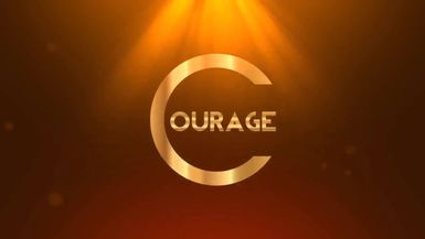 The Courage to Stay Positive in Troubled Times