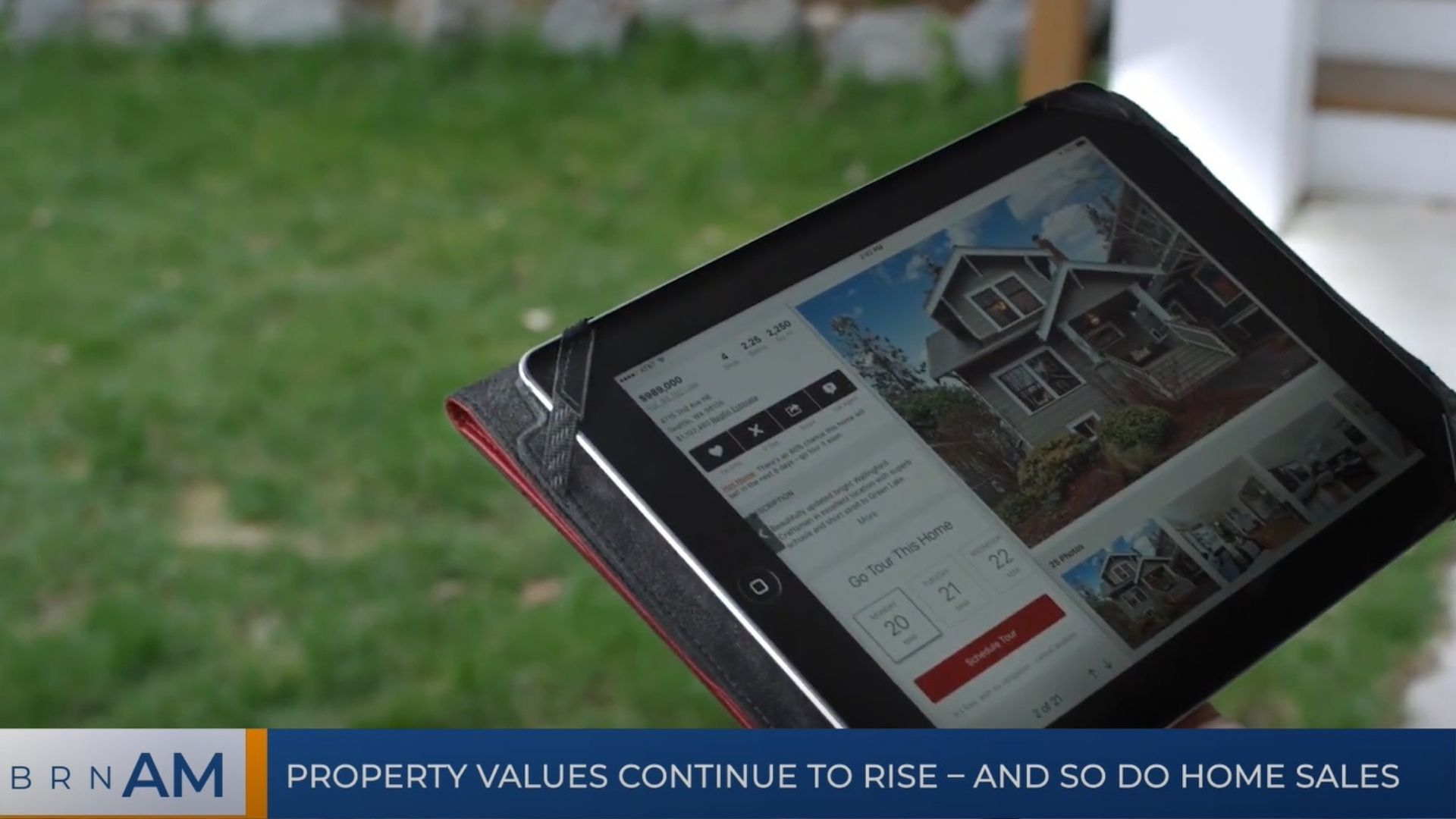 BRN AM   Property values continue to rise – and so do home sales