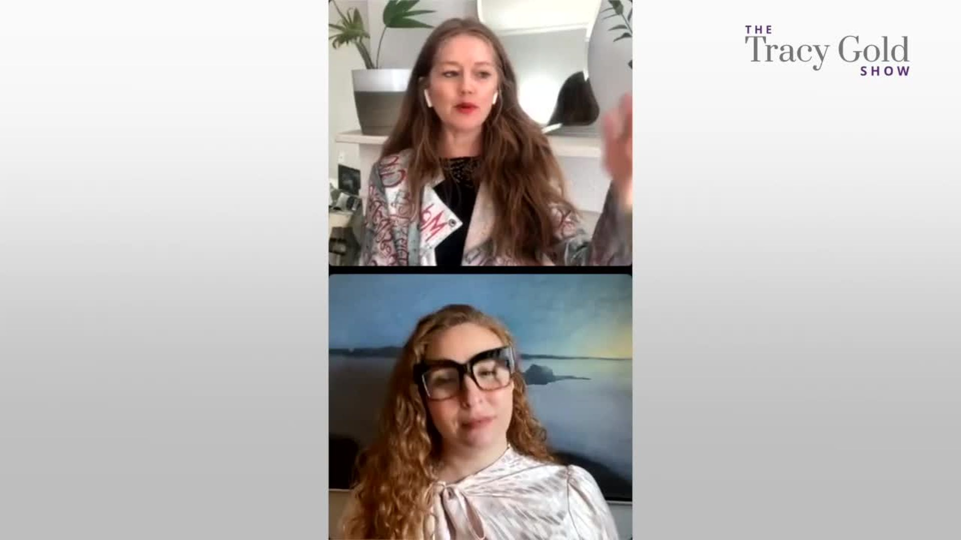 How to Look Fab on Zoom - Tracy Gold Show