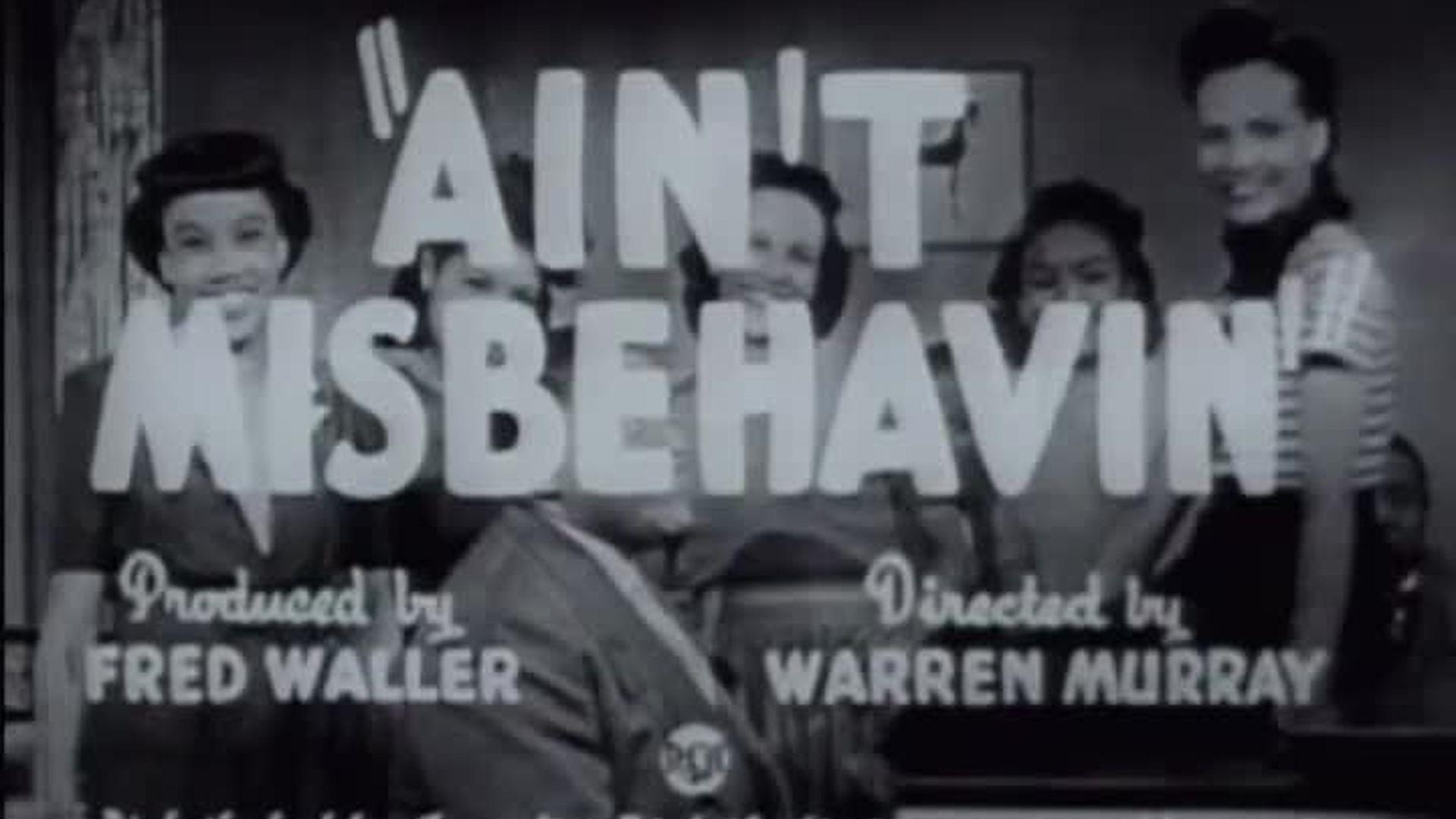 Fats Waller - Ain't Misbehavin'