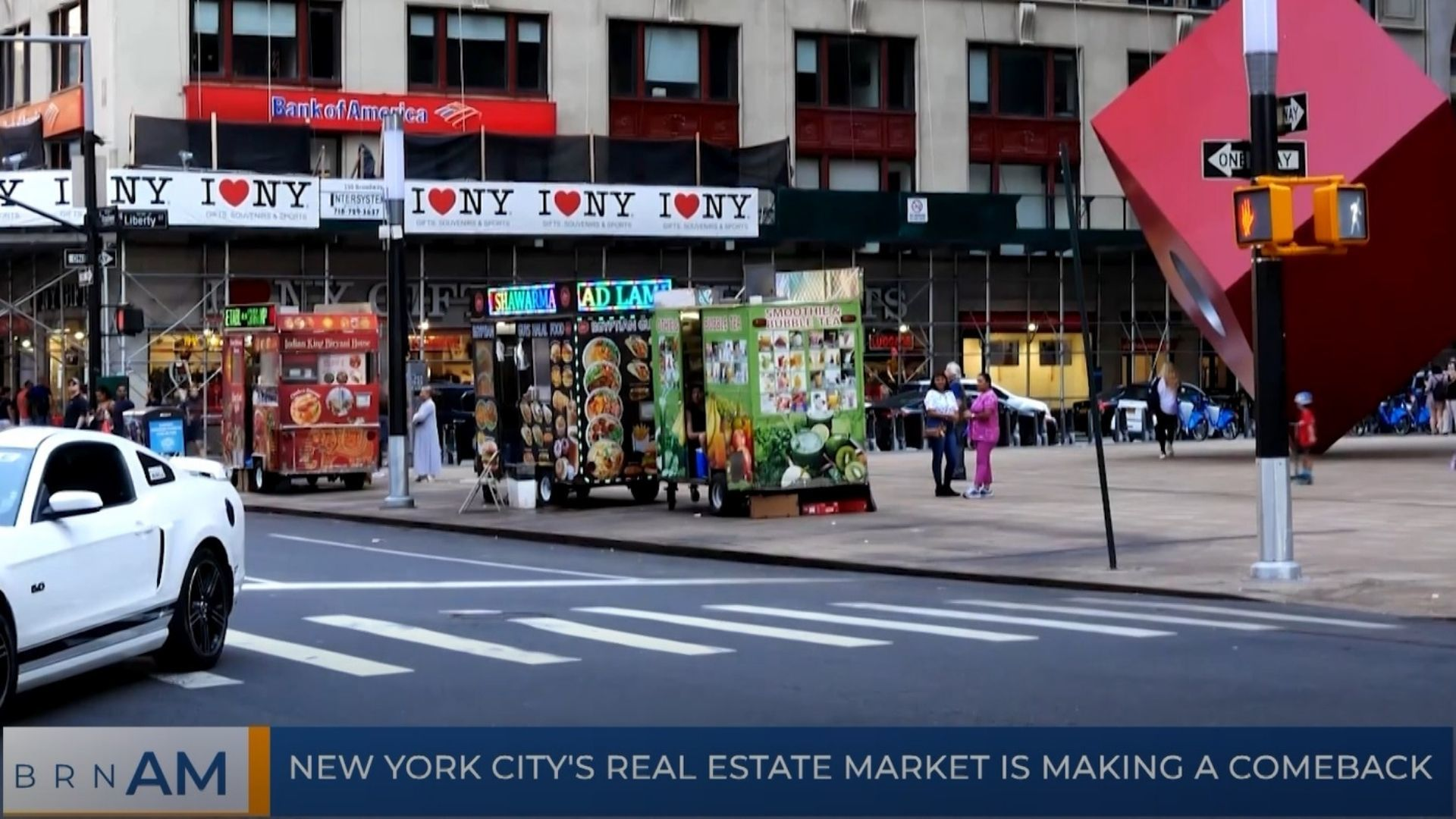 BRN AM | New York City's real estate market is making a comeback
