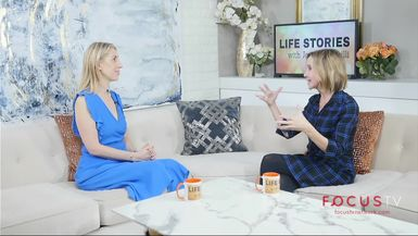 Life Stories with Joanna Garzilli: Lisa Breckenridge, TV Personality and News Anchor on Living Happily