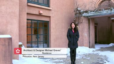 THE DESIGN TOURIST EPISODE 8, AT HOME WITH LEGENDARY ARCHITECT AND PRODUCT DESIGNER MICHAEL GRAVES