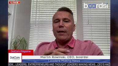 Martin Rowinski, CEO, boardsi, A DotCom Magazine Exclusive Interview