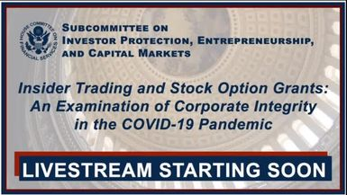 NetworkNewsAudio News-InvestorBrandNetwork Financial Data Used for House Committee on Financial Services Congressional Testimony Exhibits