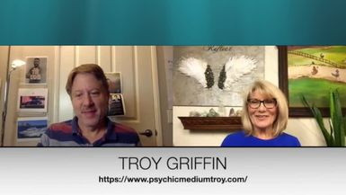 THE POWERS IN YOU - EPISODE 17- TROY GRIFFIN -PART 2- PSYCHIC DETECTIVE, INTUITIVE MEDIUM