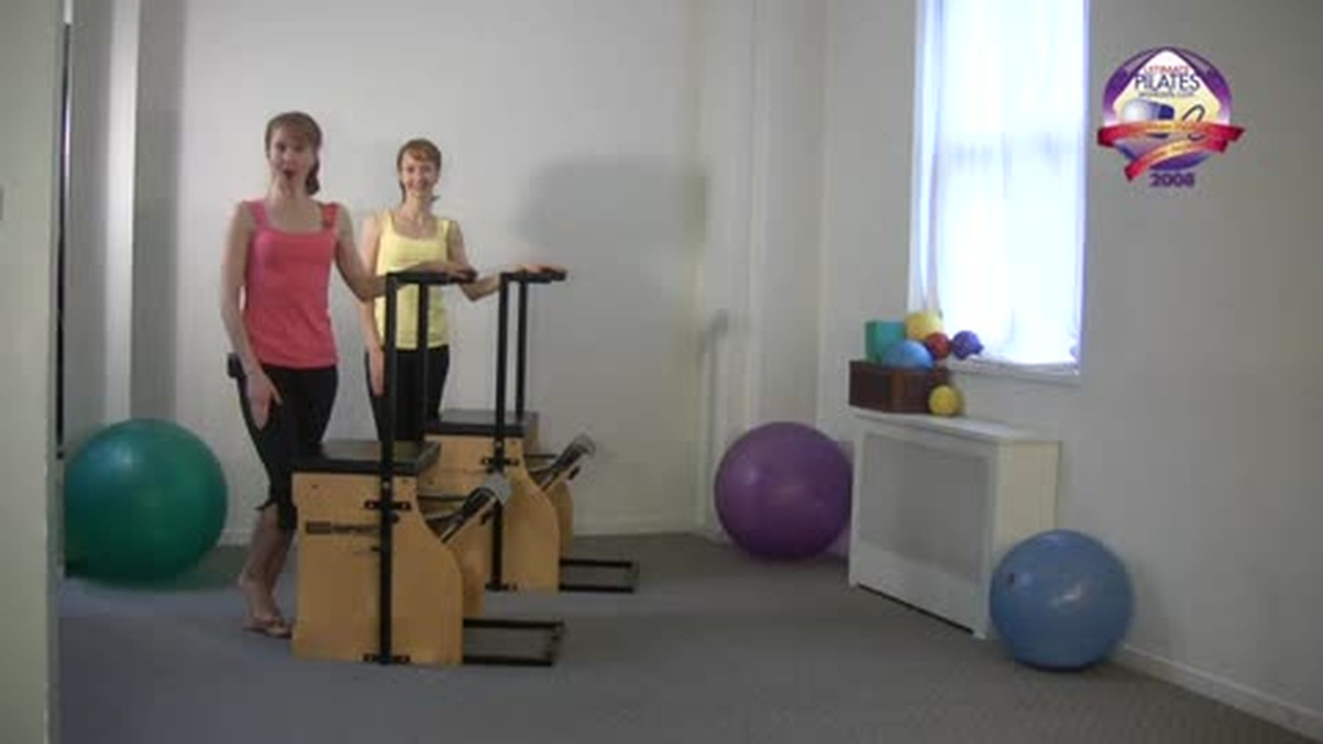 Chair Workout Arms and Back