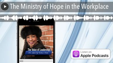 The Ministry of Hope in the Workplace