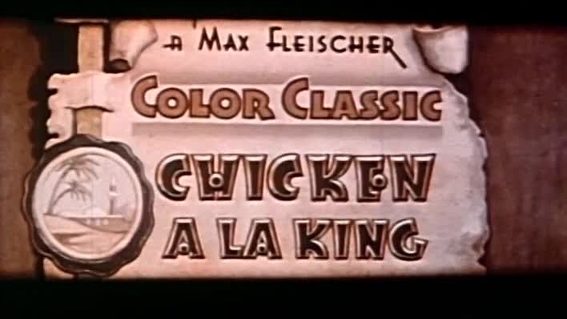 Cartoon Crazies: Chicken a la King