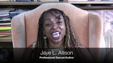DENT DAMAGE TV-Turning The Page Ep. 10 featuring author/dancer, Jaye Allison