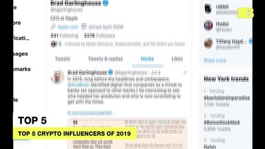 Top 5 crypto influencers of 2019