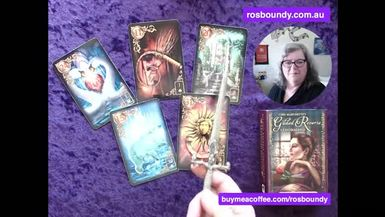 7th October 2021  Daily LENORMAND Cards with Ros