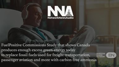 NetworkNewsAudio News-FuelPositive Corp. (TSX.V: NHHH) (OTCQB: NHHHF) Commissions Study Highlighting Breadth of Canadian Green Energy Production Capacity