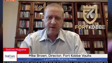 Mike Brown, Director, Fort Kobbe, International Vaults, A DotCom Magazine Exclusive Interview