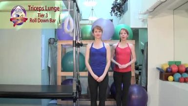 Triceps Lunge