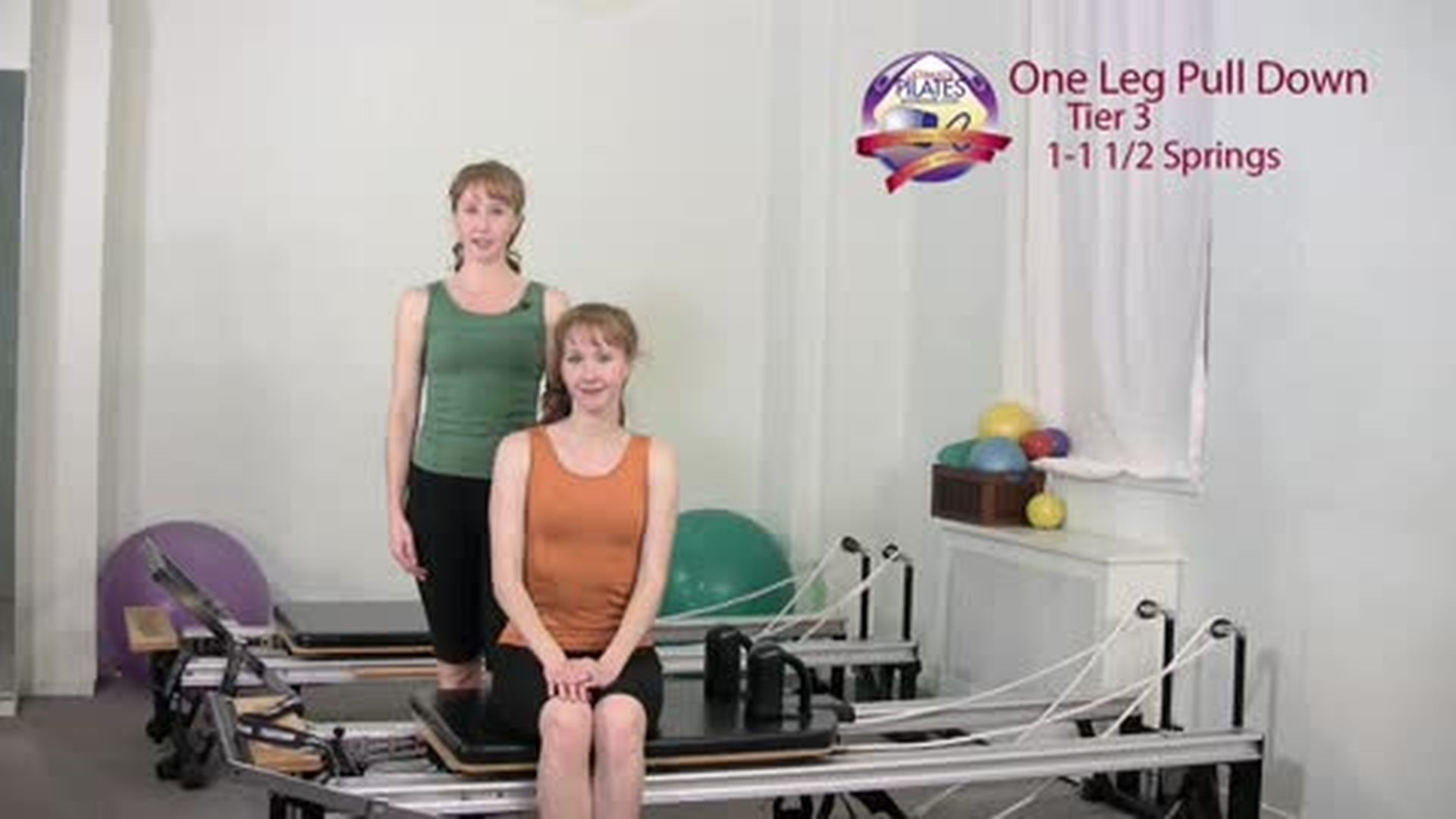 One Leg Pull Down Supine