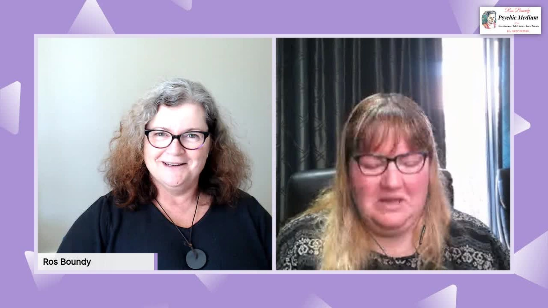 Tuesdays Intuitive Chat with Leanne & Ros - 1st October 2019.