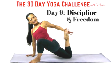 Trailer - Day 9 of The 30 Day Visionary Yoga Challenge: Discipline & Freedom