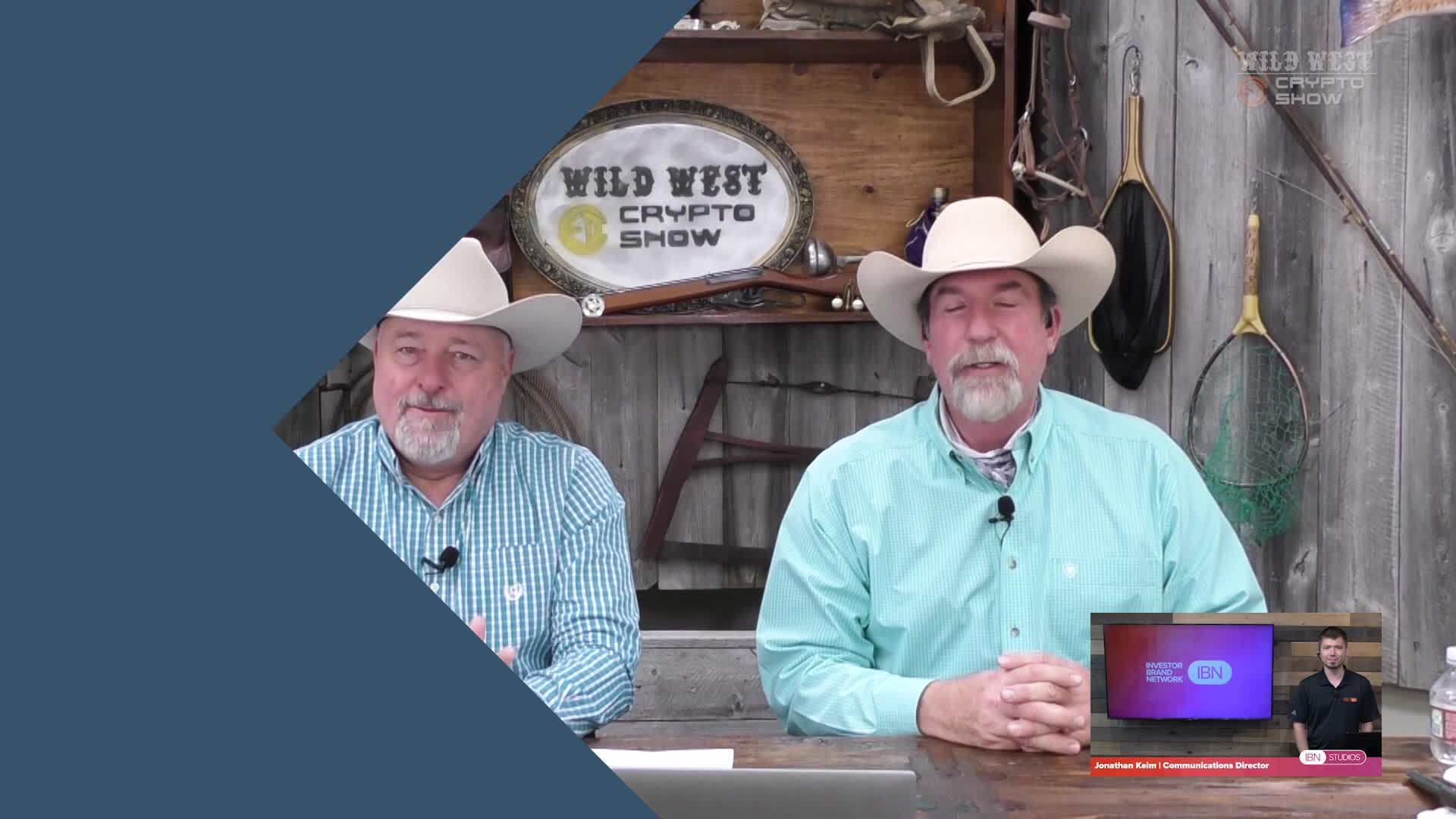 CryptoCurrencyWire Videos-The Wild West Crypto Show Hosts Crypto Crusaders Dirk Leuth and Ronnie Moas | CryptoCurrencyWire on The Wild West Crypto Show | Episode 127