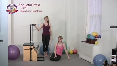 Adductor Press Pilates Exercise